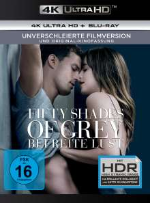 Fifty Shades of Grey 3 - Befreite Lust (Ultra HD Blu-ray & Blu-ray), Ultra HD Blu-ray