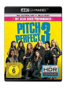 Pitch Perfect 3 (Ultra HD Blu-ray & Blu-ray), 1 Ultra HD Blu-ray und 1 Blu-ray Disc