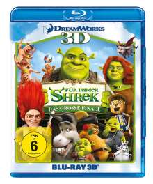 Shrek 4: Für immer Shrek (3D Blu-ray), Blu-ray Disc