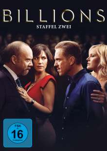 Billions Season 2, 4 DVDs
