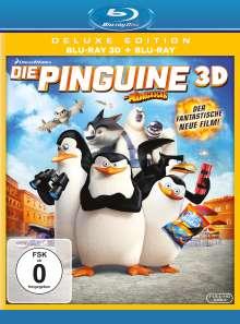 Die Pinguine aus Madagascar (3D & 2D Blu-ray), 2 Blu-ray Discs