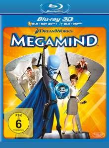Megamind (3D & 2D Blu-ray), 2 Blu-ray Discs