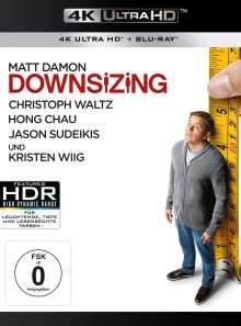 Downsizing (Ultra HD Blu-ray & Blu-ray), 2 Ultra HD Blu-rays