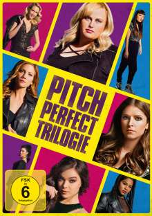 Pitch Perfect Trilogy, 3 DVDs