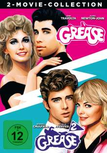 Grease 1 & 2, 2 DVDs