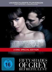 Fifty Shades of Grey 3 - Befreite Lust (Limited Edition) (Digibook), 2 DVDs
