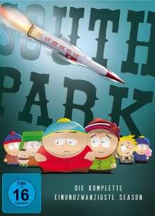 South Park Season 21, 2 DVDs