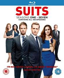 Suits Season 1-7 (Blu-ray) (UK Import), Blu-ray Disc