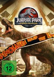Jurassic Park 4-Movie-Collection, 4 DVDs