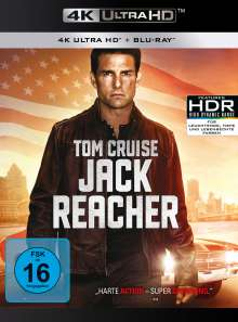 Jack Reacher (Ultra HD Blu-ray & Blu-ray, 1 Ultra HD Blu-ray und 1 Blu-ray Disc