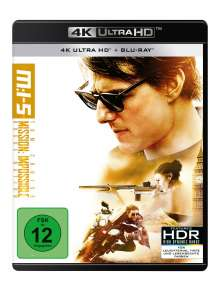 Mission: Impossible 5 - Rogue Nation (Ultra HD Blu-ray & Blu-ray), Ultra HD Blu-ray