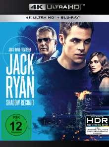 Jack Ryan: Shadow Recruit (Ultra HD Blu-ray & Blu-ray), Ultra HD Blu-ray