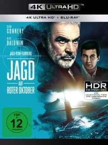 Jagd auf Roter Oktober (Ultra HD Blu-ray & Blu-ray), 1 Ultra HD Blu-ray und 1 Blu-ray Disc