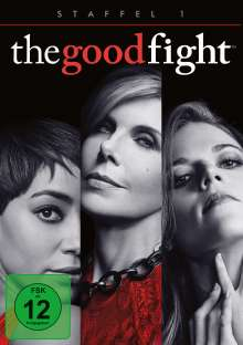 The Good Fight Season 1, 3 DVDs