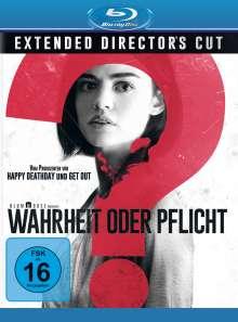 Wahrheit oder Pflicht (Blu-ray), Blu-ray Disc