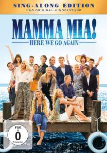 Mamma Mia! Here we go again, DVD