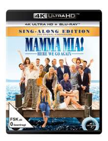 Mamma Mia! Here we go again (Ultra HD Blu-ray & Blu-ray), 2 Ultra HD Blu-rays