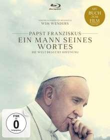 Papst Franziskus - Ein Mann seines Wortes (mit Buch zum Film) (Blu-ray), Blu-ray Disc