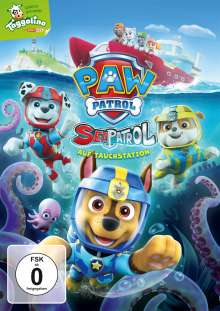 Paw Patrol: Sea Patrol, DVD