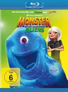 Monster und Aliens (Blu-ray), Blu-ray Disc