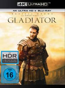 Gladiator (1999) (Ultra HD Blu-ray & Blu-ray), 2 Ultra HD Blu-rays