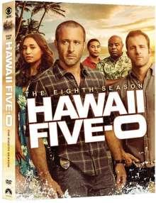 Hawaii Five-O (2010) Season 8 (UK Import), 6 DVDs
