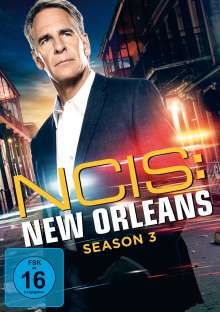 Navy CIS: New Orleans Staffel 3, 6 DVDs