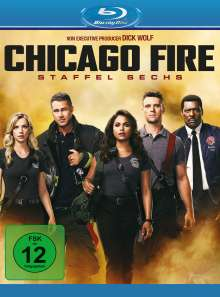 Chicago Fire Season 6 (Blu-ray), 6 Blu-ray Discs