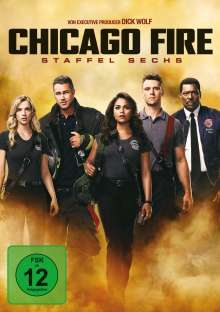 Chicago Fire Season 6, 6 DVDs