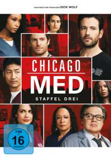 Chicago Med Season 3, 6 DVDs