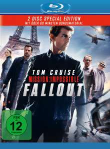 Mission: Impossible 6 - Fallout (Blu-ray), 2 Blu-ray Discs