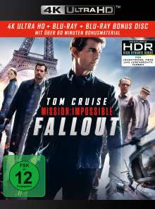 Mission: Impossible 6 - Fallout (Ultra HD Blu-ray & Blu-ray), Ultra HD Blu-ray