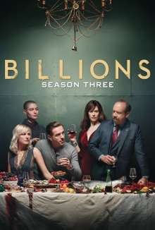 Billions Seasons 3 (UK Import), 4 DVDs