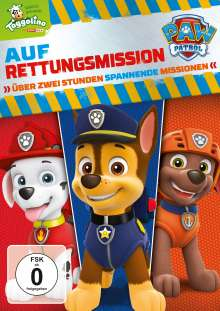 Paw Patrol: Auf Rettungsmission, DVD