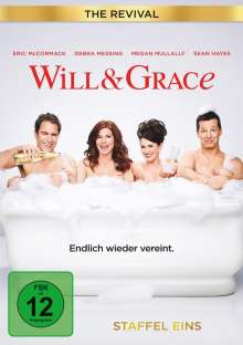 Will & Grace (The Revival) Season 1, 3 DVDs