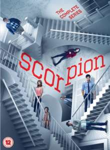 Scorpion Season 1-4 (UK Import), 24 DVDs