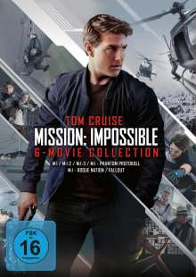 Mission: Impossible - 6-Movie Collection, 6 DVDs