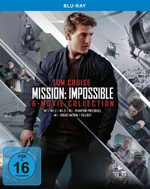 Mission: Impossible - 6-Movie Collection (Blu-ray), 7 Blu-ray Discs