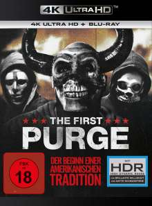 The First Purge (Ultra HD Blu-ray & Blu-ray), 2 Ultra HD Blu-rays