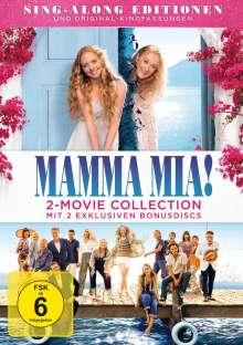 Mamma Mia! / Mamma Mia! Here we go again (Special Edition mit 2 Bonus-Discs), 4 DVDs