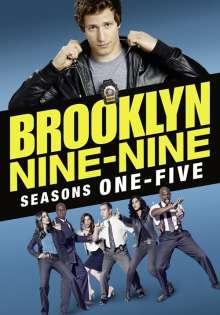 Brooklyn Nine-Nine Season 1-5 (UK Import), 16 DVDs