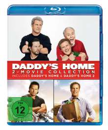 Daddy's Home 1 & 2 (Blu-ray), 2 Blu-ray Discs