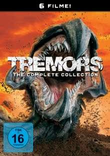 Tremors 1-6, 6 DVDs