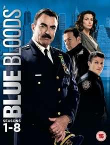 Blue Bloods Season 1-8 (UK Import), 48 DVDs
