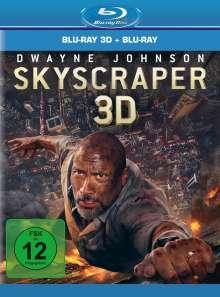 Skyscraper (3D & 2D Blu-ray), 2 Blu-ray Discs
