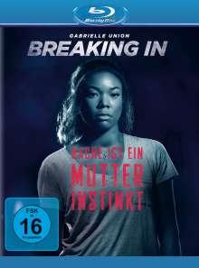 Breaking In (Blu-ray), Blu-ray Disc
