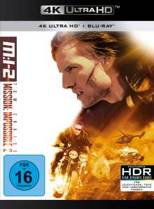 Mission: Impossible 2 (Ultra HD Blu-ray & Blu-ray), 1 Ultra HD Blu-ray und 1 Blu-ray Disc