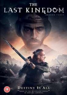 The Last Kingdom Season 3 (UK Import), 4 DVDs