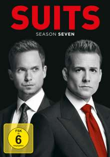 Suits Season 7, 4 DVDs
