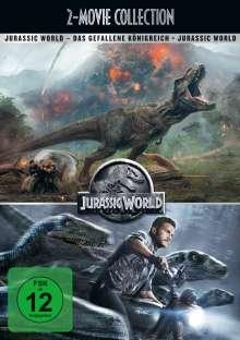 Jurassic World 1 & 2, 2 DVDs